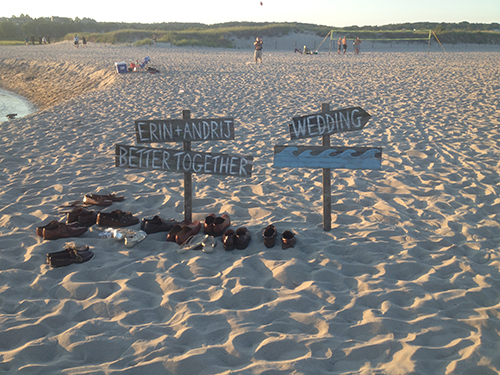 Beach wedding rental Gloucester MA