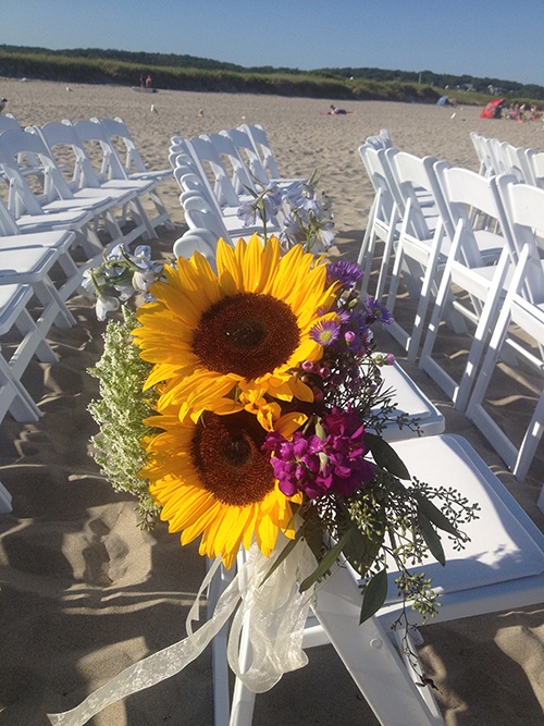 Wedding chair rental Gloucester MA