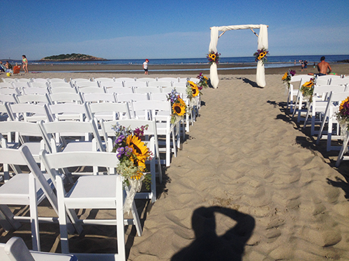 wedding rentals Gloucester, MA