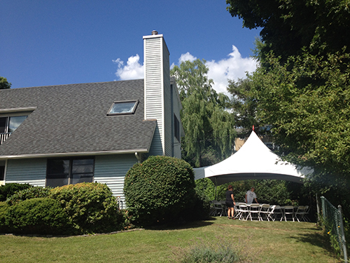 Tent rental in Marblehead, MA