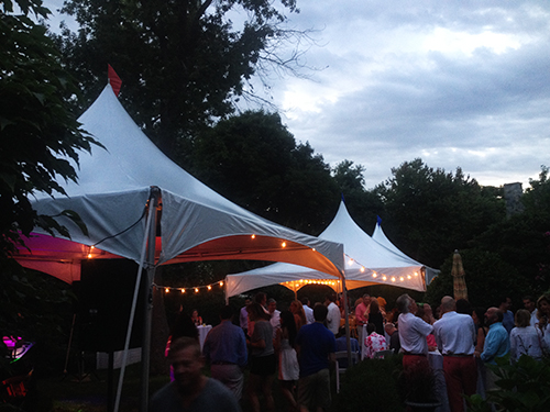 Garden Party Tent Rental, Marblehead, MA