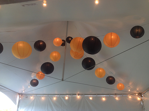 Halloween Party Tent Rental, Marblehead, MA