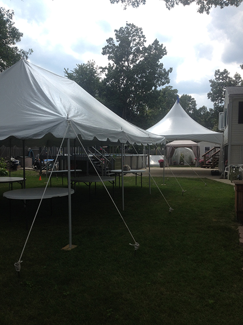 Tent rental Middleton MA