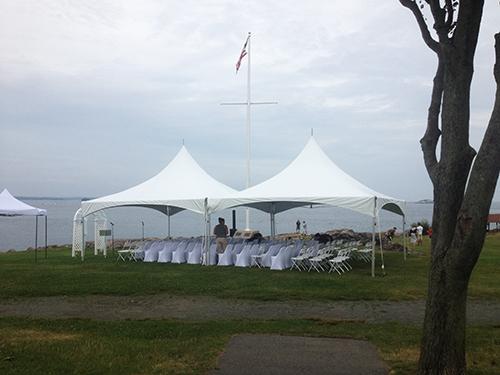 Wedding Tent Rental, Marblehead, MA