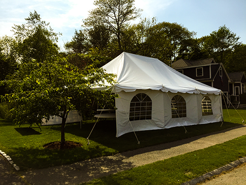 20x30 tent rental in Beverly, MA