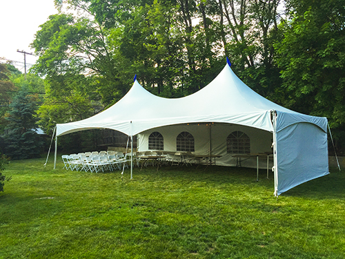 Graduation Party Tent Rental, Swampscott, MA