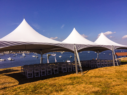 Wedding Ceremony Tent Rental, Marblehead, MA