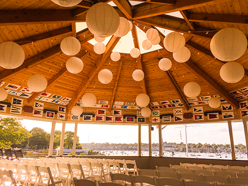 Wedding decoration Eastern Yacht Club, Marblehead, MA