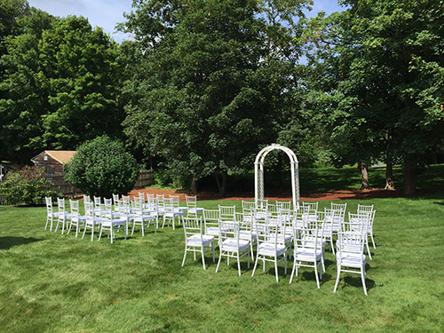chiavari wedding chair rental Nahant