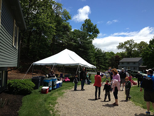 Tent Rental in Topsfield MA.